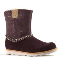 Clarks Crown Piper Inf Burgundy 26138304 Main